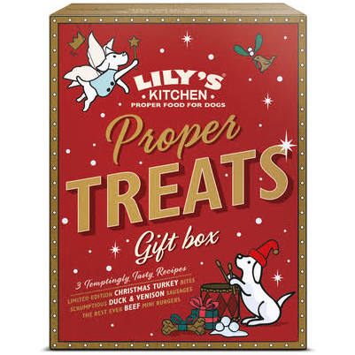 Lily's Kitchen Christmas Proper Treats Gift Box