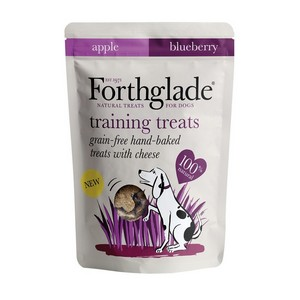 Forthglade Training Treats Cheese Apple & Blueberry 150g