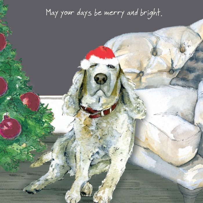 Goldie Christmas Card