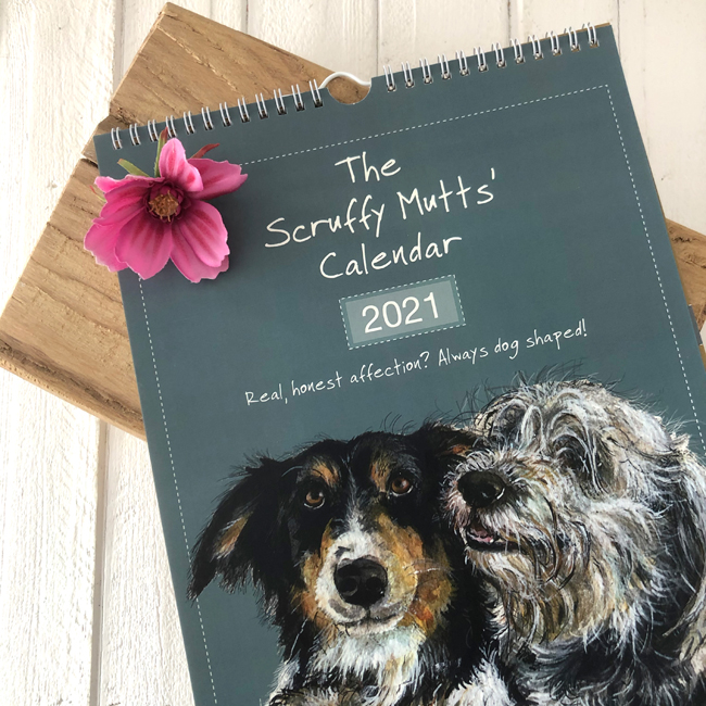 2021 Scruffy Mutts Dog Calendar