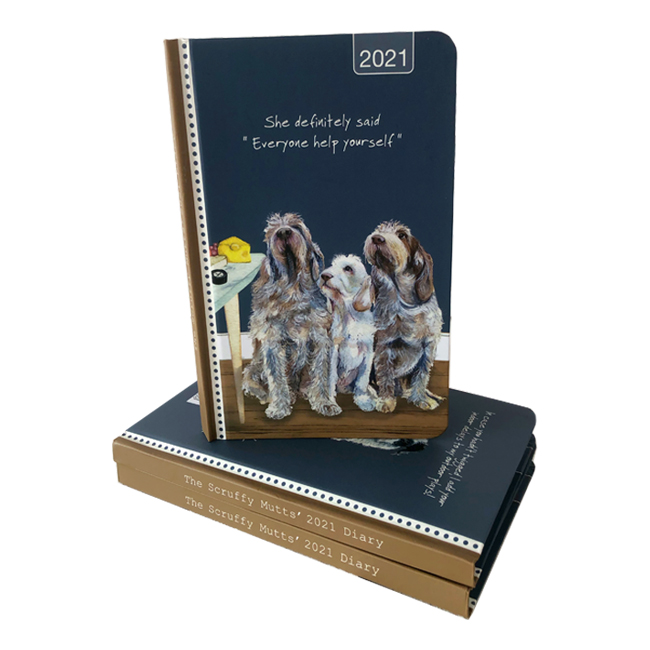 2021 Scruffy Mutts Diary