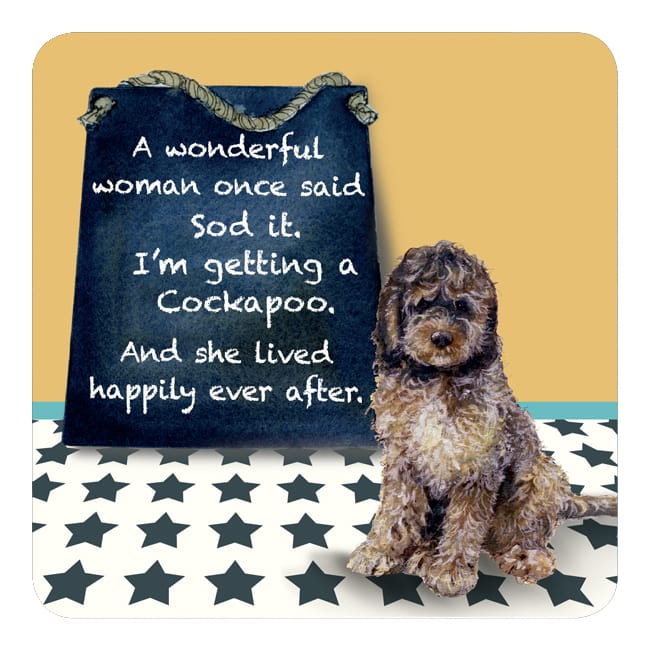 Cockapoo Coaster – Happily Ever After