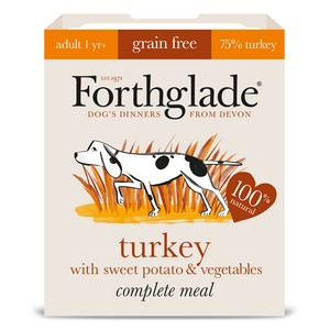 Forthglade Complete Adult Turkey, Sweet Potato & Veg Grain Free 395g