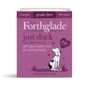 Forthglade Just Duck Grain Free 395g