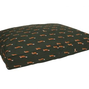 Foxes Pet Bed Mattress by Sophie Allport